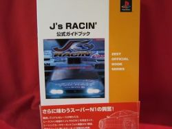 js-racin-official-guide-book-playstationps1