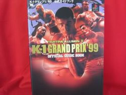 k-1-grand-prix-99-official-guide-book-playstationps1