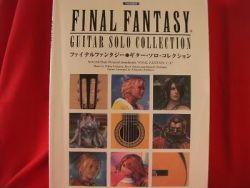 Final Fantasy (II,III,IV,V,VI,VII,VIII,IX,X) Guitar Solo Sheet Music C