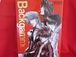 kazuya-minekura-backgammon-1-illustration-art-book